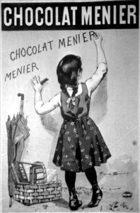 Chocolat Menier, Affiche publicitaire