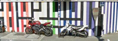 Mur d'une crèche, rue des Pyrénées, Paris 20e