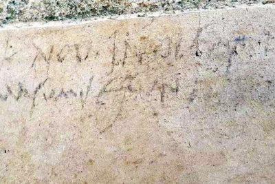 Quand un graffiti remet en cause l'Histoire !